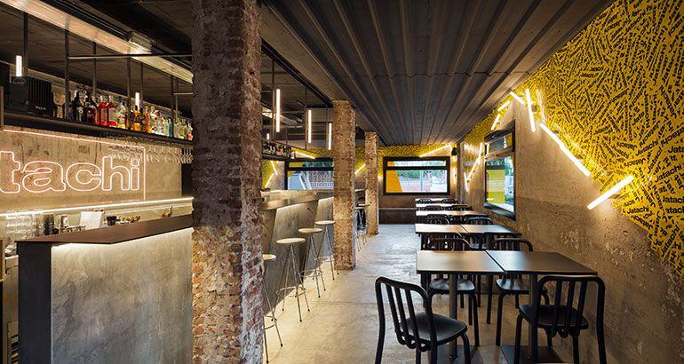 Estudio coa tags jatachi restaurant in barcelona with