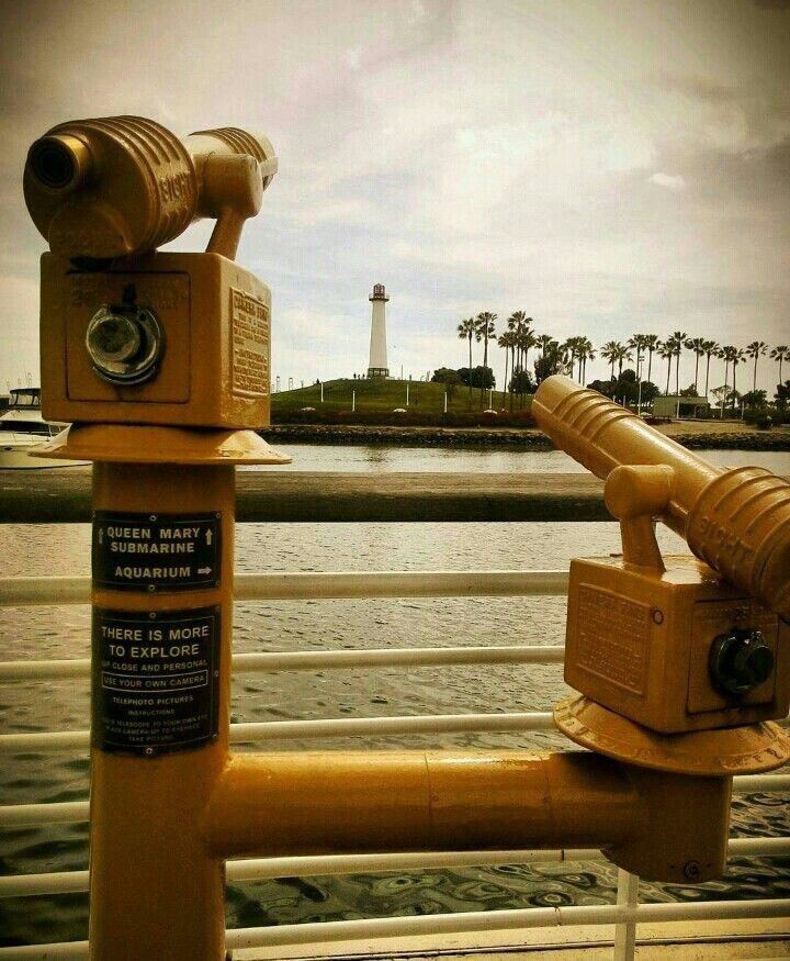 view of the lighthouse  #LongBeach #California #lighthouse