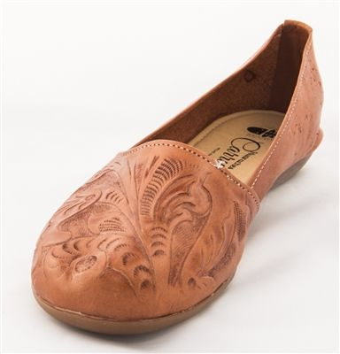 cec7b31eebf2 Womens Mexican Tooled Huarache Sandals - Brown  unique  Spring  huarache   huarachesandals  flats  leather  leatherflats  tooledleather
