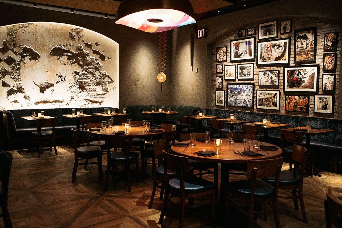 Street Art Meets Food Inside New Yorks Vandal Restaurant
