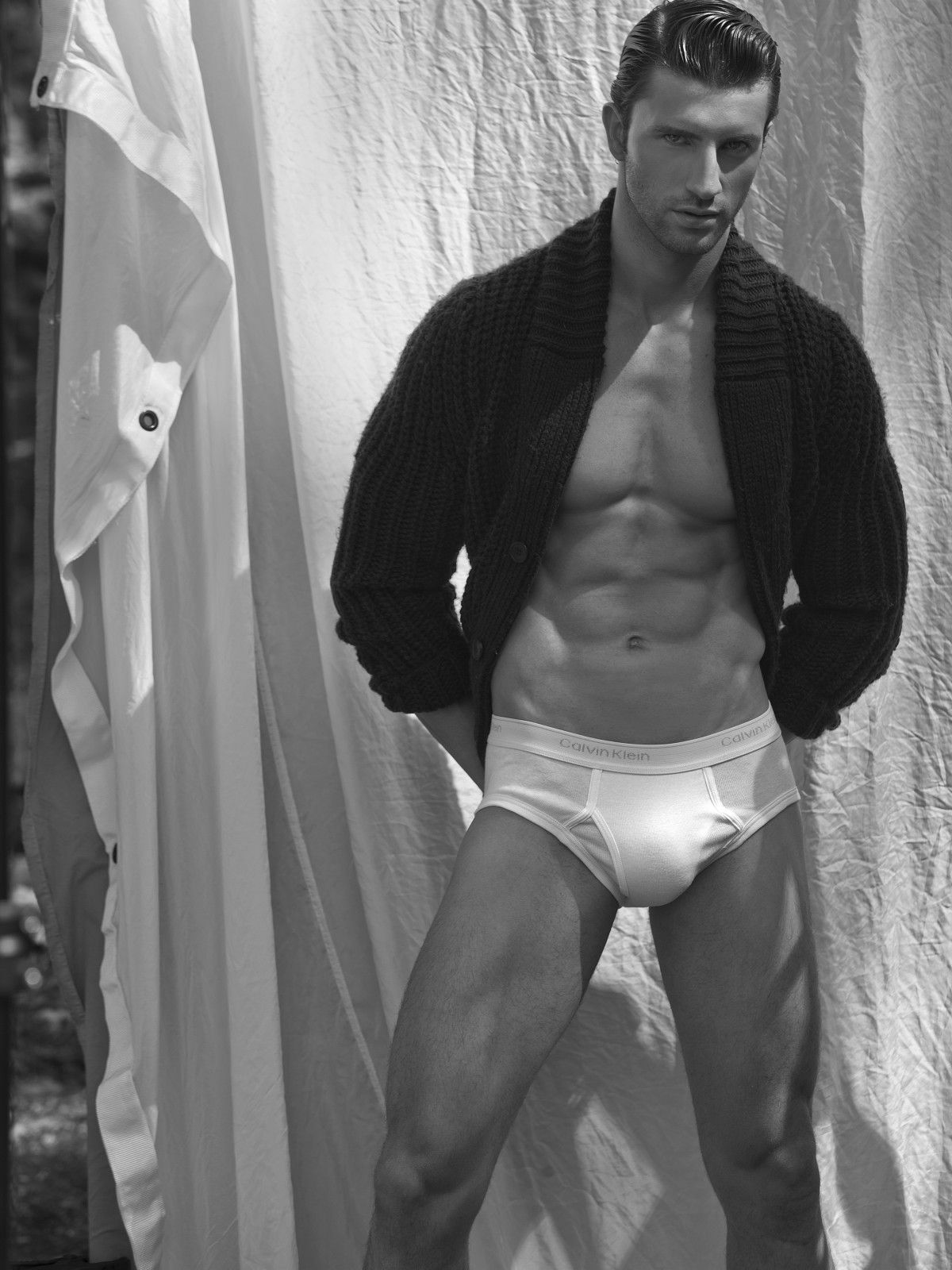 Calvin Klein Black and White