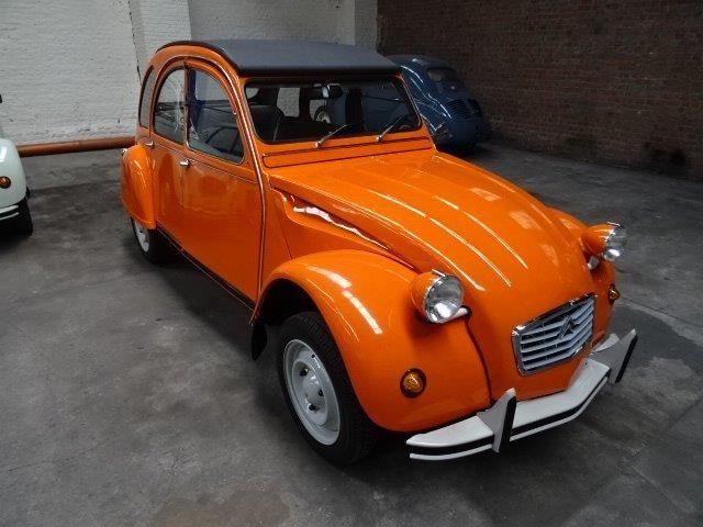 Citroen 2cv 6 Special Volledig Gerestaureerd Orange 3 2cv Citroen 2cv