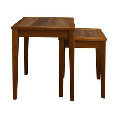 Loon Peak Webber 2 Piece Nesting End Tables Nesting End Tables