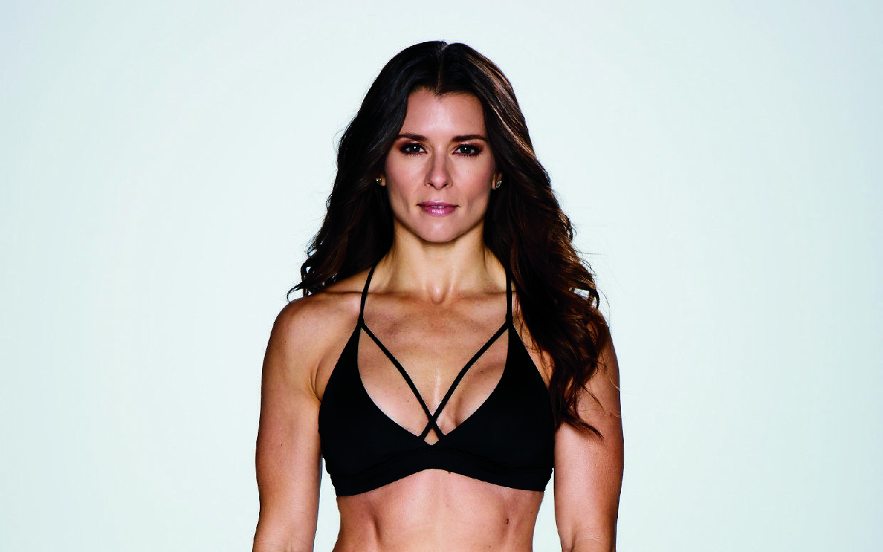 It's a new year and many of us have resolved to slim down, tone up or become an all-around better person. Danica Patrick, who made a splash and held her own in the mostly male world of Indy Car and NASCAR racing, is offering to help. In her new book, , th