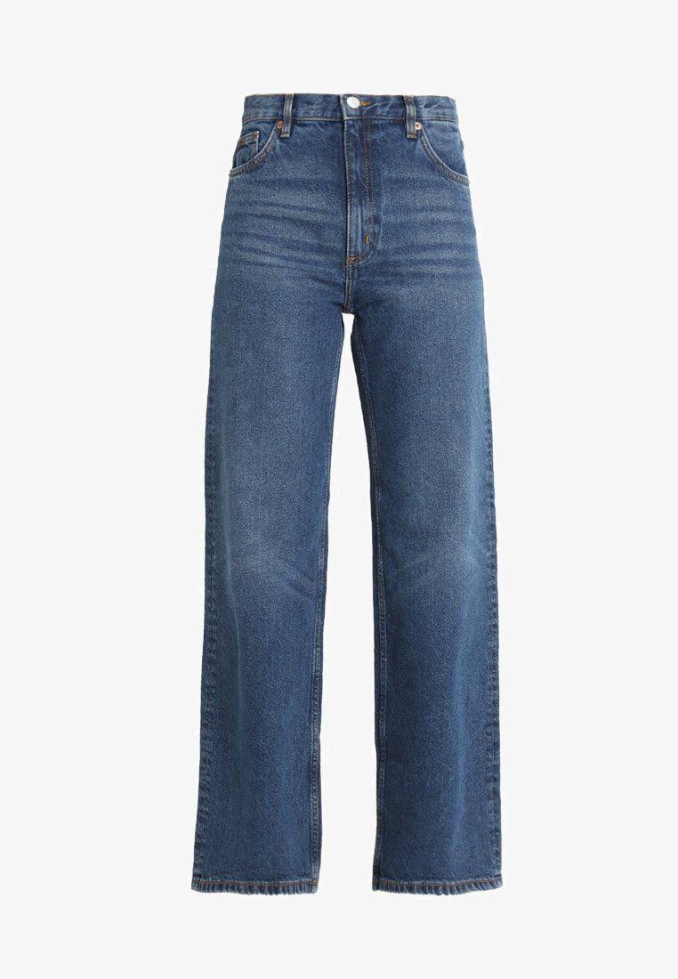 Monki YOKO Jeans Bootcut blue Zalando.dk   Tumblr tøj