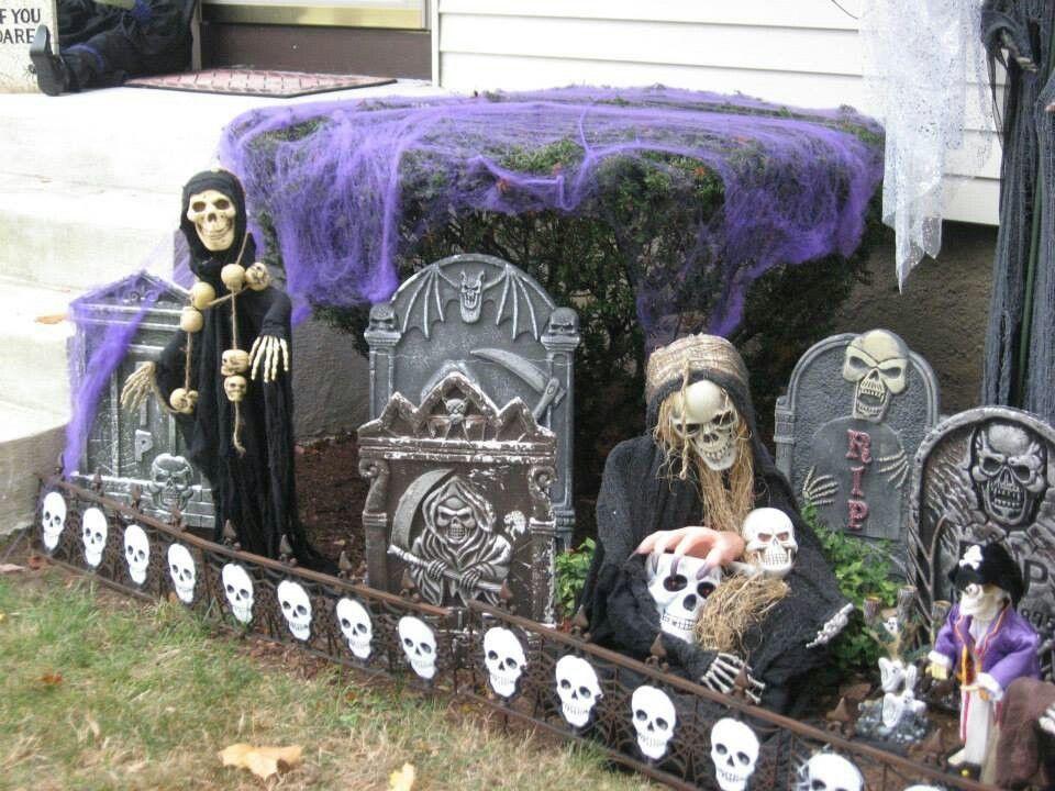 Halloween decorations halloween makeup costumes and for Decorazioni esterne giardino
