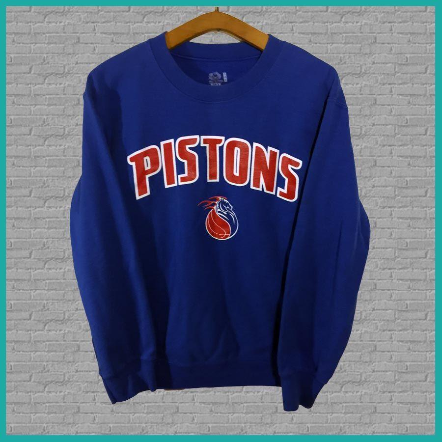 Vintage Detroit Pistons Crewneck Sweatshirt | Vintage Crewneck ...