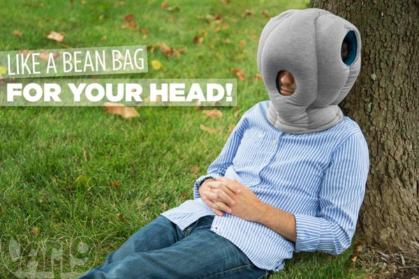 The Ostrich Pillow Nap Anywhere Anytime Pillows Shark