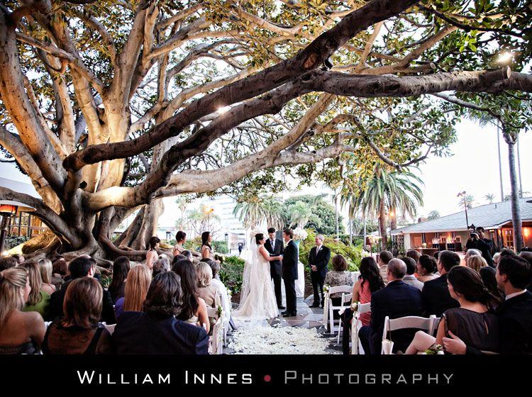 Santa Monica - Fairmont Hotel  Weddings -repinned from California marriage officiant https://OfficiantGuy.com #weddingofficiant #losangelesweddings