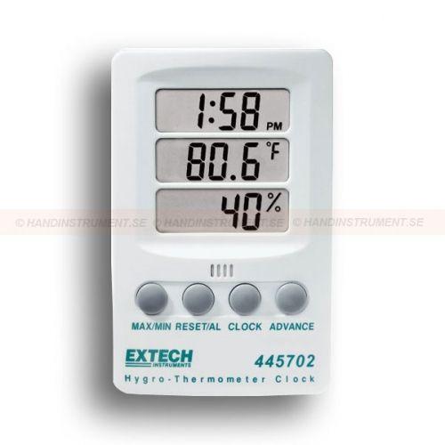 "http://termometer.dk/luftfugtmaler-r13208/hygro-termometer-med-digitalt-ur-53-445702-r13214  Hygro-termometer med digitalt ur  ur viser 12/24 timers visning  Max / min med ""reset""-funktion  Fugtighed: 10 til 85%  Temperatur : 14-140 Garanti: 2 År"