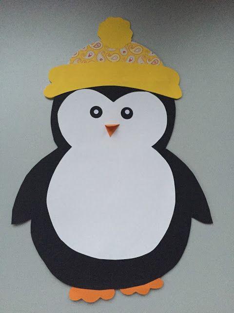 Pinguin (Fensterdeko)   Rishit   Baby crafts, Christmas ...