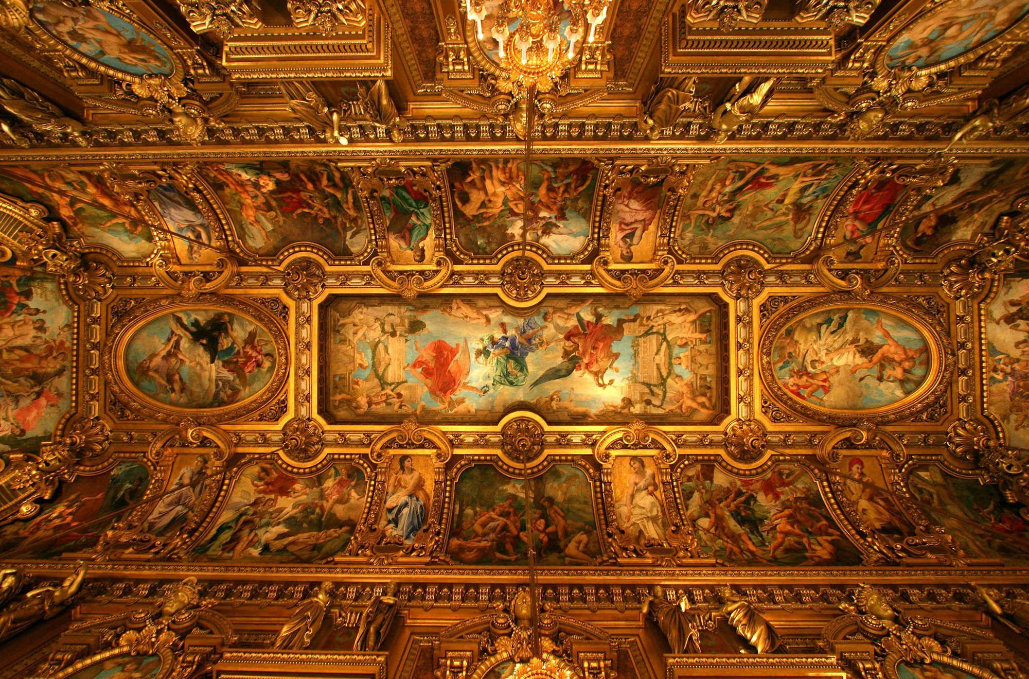 paris opera house ceiling