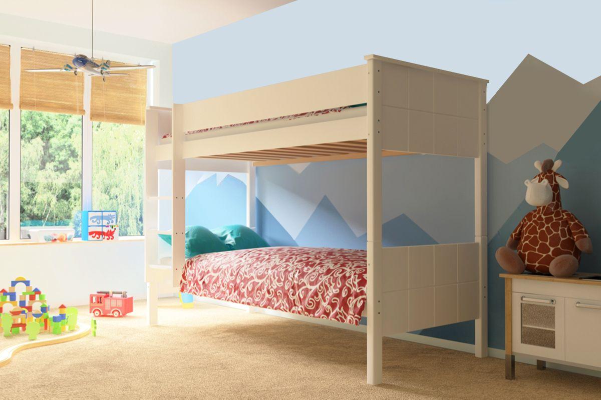 Nowoczesne łóżko Piętrowe Eryk Meble Doktór Gwarancja