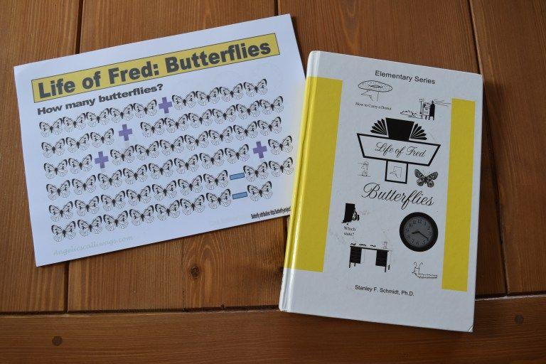 Homeschool maths life of fred butterflies review booklet