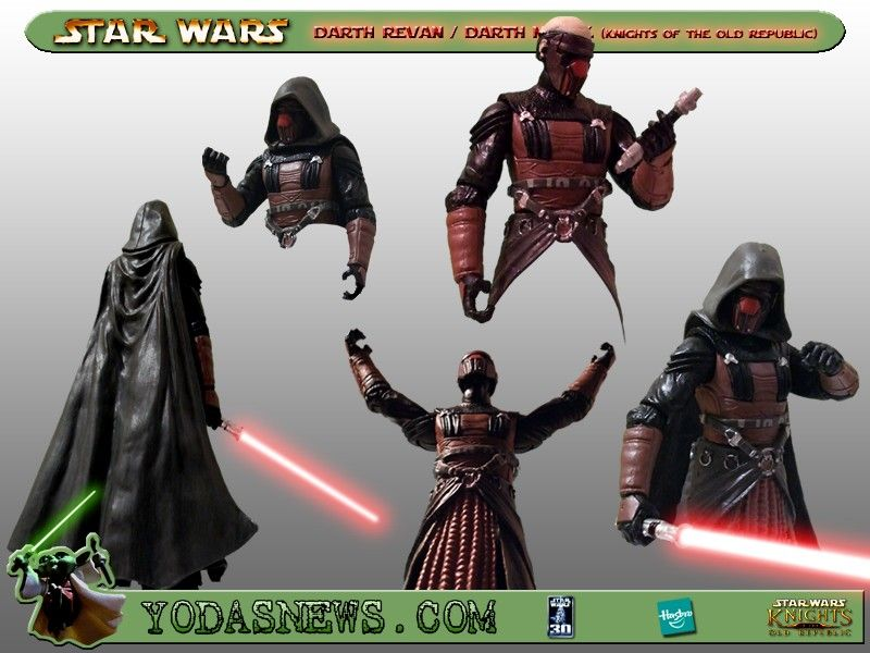 Yodasnews Com Review Of Hasbro Darth Revan And Darth Malak With