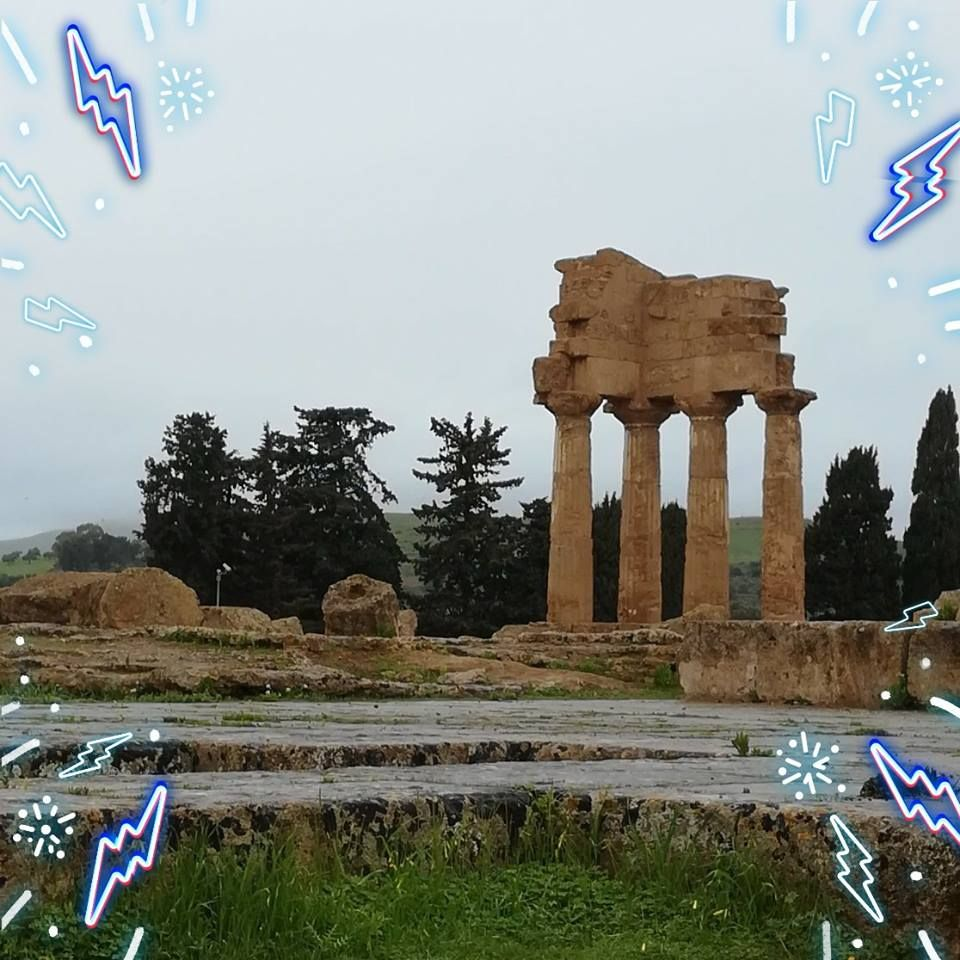 Agrigento Valle dei templi Sicilia, Luoghi, Templi