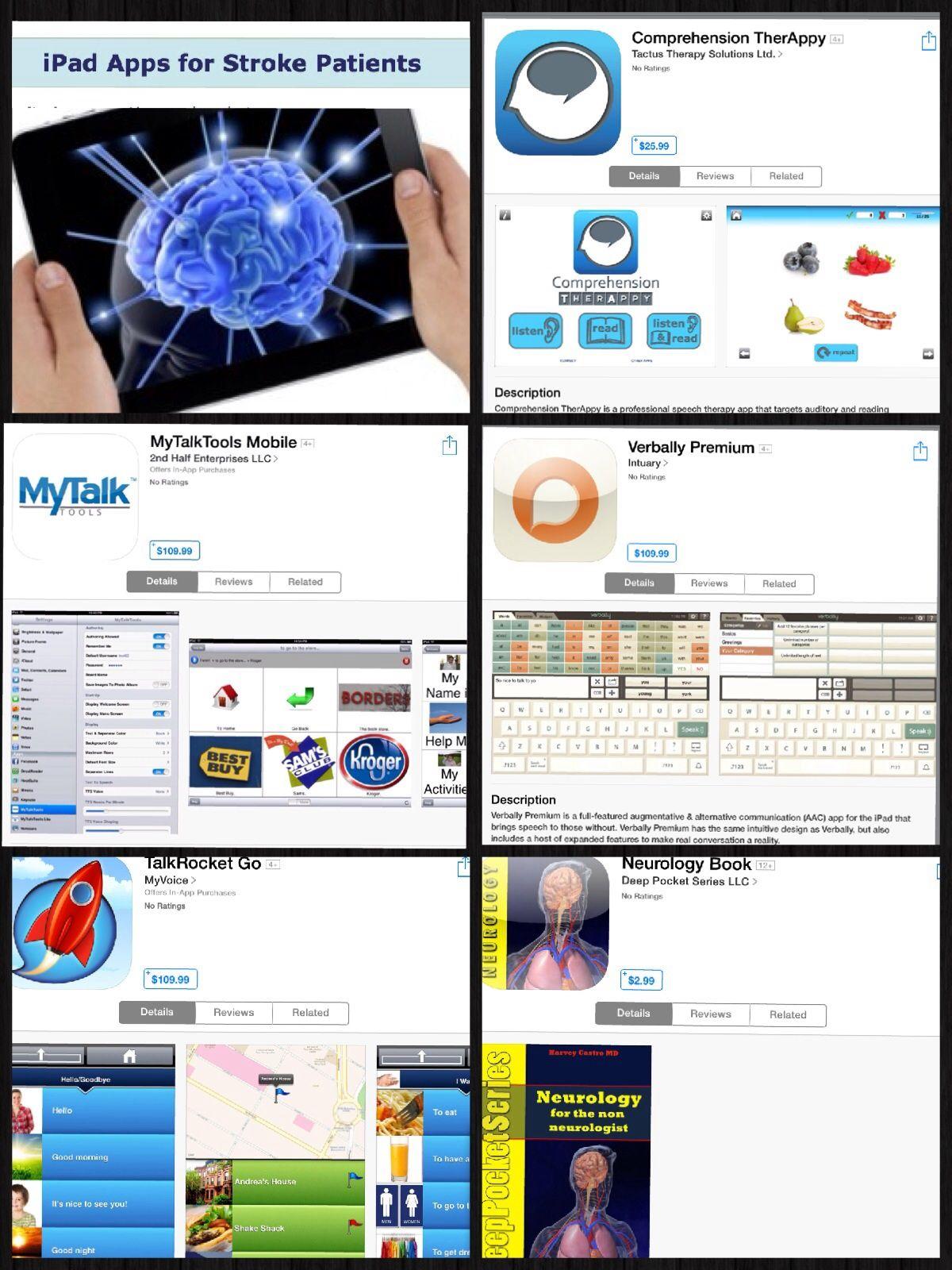 Apps for postStroke Rehabilitation Recovery blog, Ipad