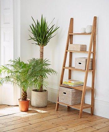 save off 3d057 9d5fd Sumatra Teak Ladder Bookcase   Home - inspirations / living ...