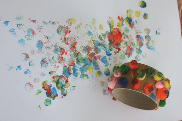 des activit s cr atives pour les personnes handicap s partie 2 pinterest peindre enfants. Black Bedroom Furniture Sets. Home Design Ideas