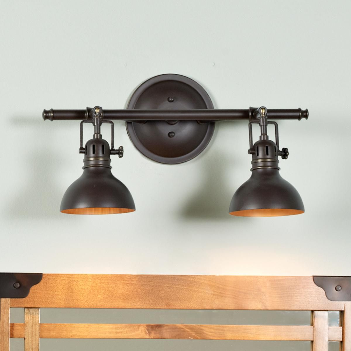 Pullman Bath Light - 2 Light | Bath light, Bath and Nautical bath