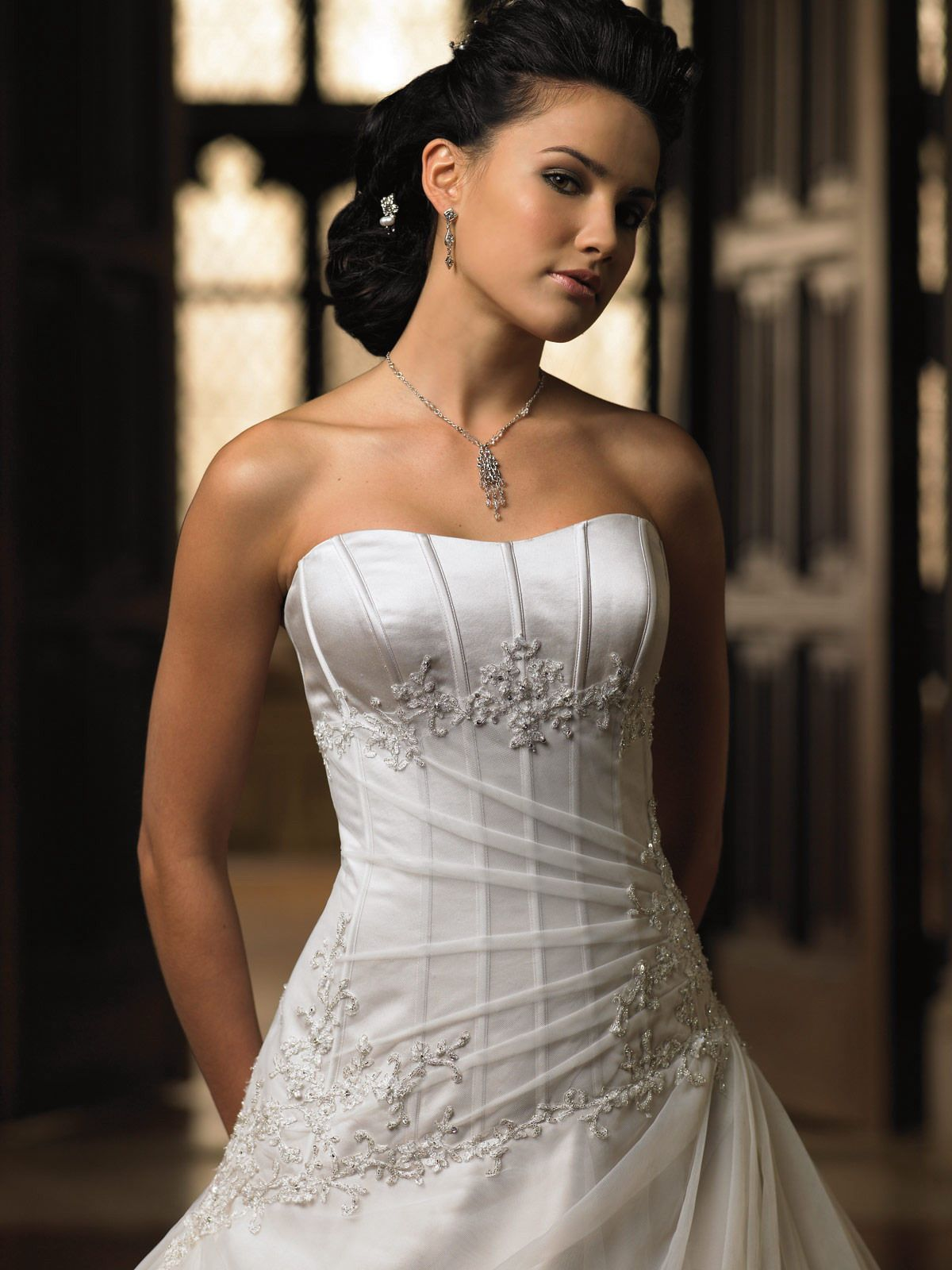 Mon cheri bridal gown style leecy bridal dress pinterest