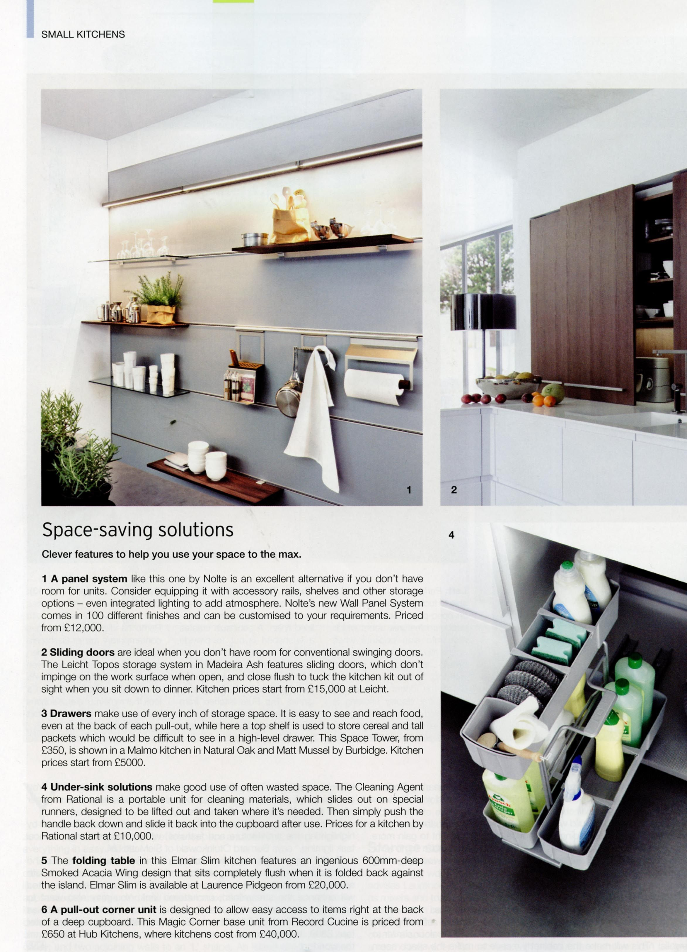 The ingenious elmar slim kitchen from laurence pidgeon http laurencepidgeon com