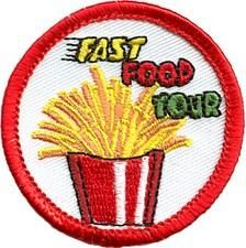 S0254 - Fast Food Tour Fun Patch