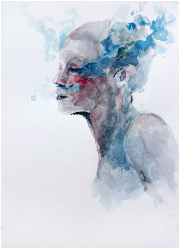 Deep Blue Sigh By Agnes Cecile Deviantart Com On Deviantart In