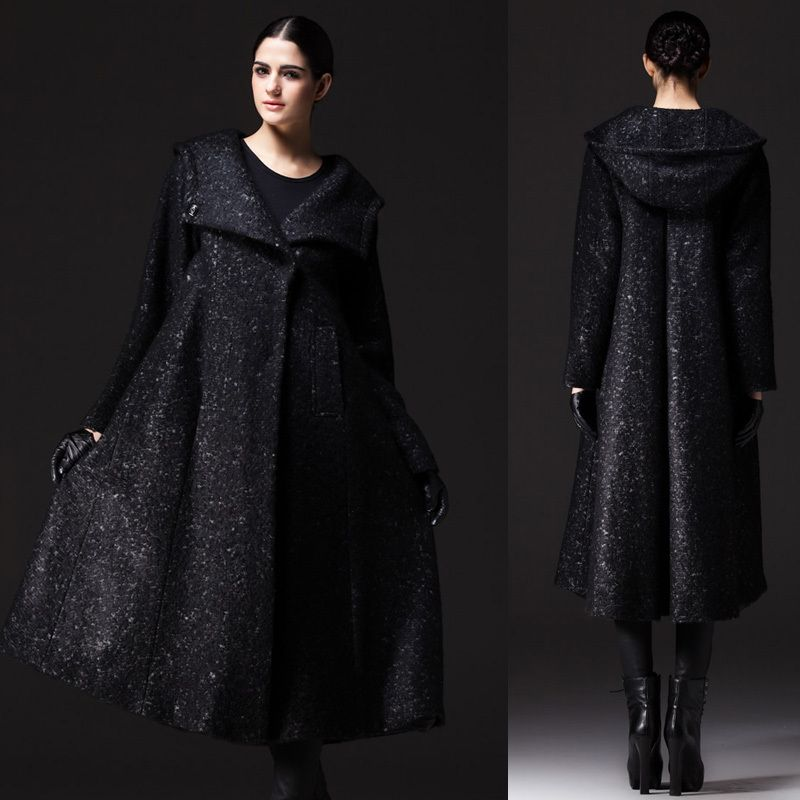 Manteau femme original long