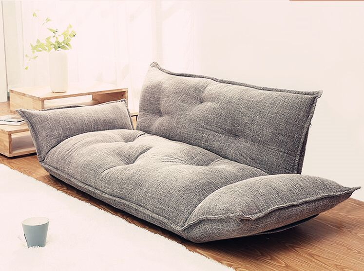 Modern Design Floor Sofa Bed 5 Position Adjustable Lazy Sofa
