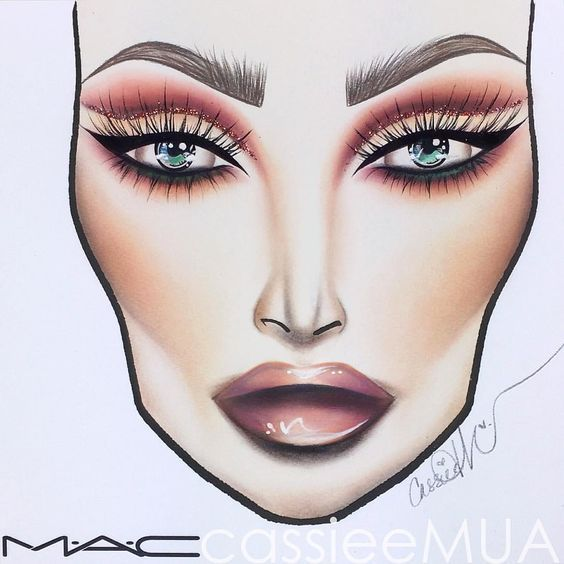Mac Glittery Cut Crease Make Up Pinterest Makeup Makeup Face