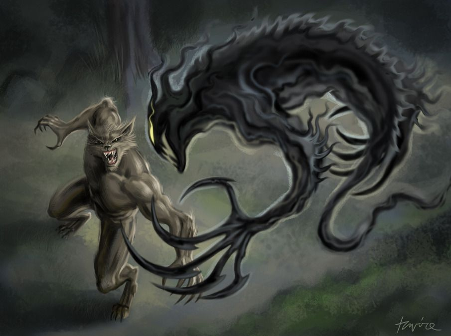 Slayer Vs Werewolf By Bertuccio On Deviantart Cofd Werewolf The