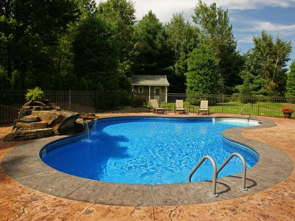 small inground pool photo gallery | Inground Pools Swimming ...