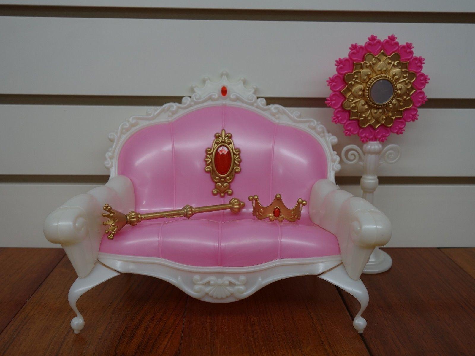 NEW Princess DOLLHOUSE FURNITURE Living Room PLAYSET 1204