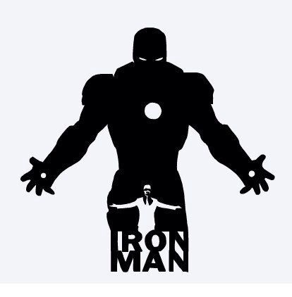 Connu Iron man | Vinyl decals | Pinterest | Forme IP61