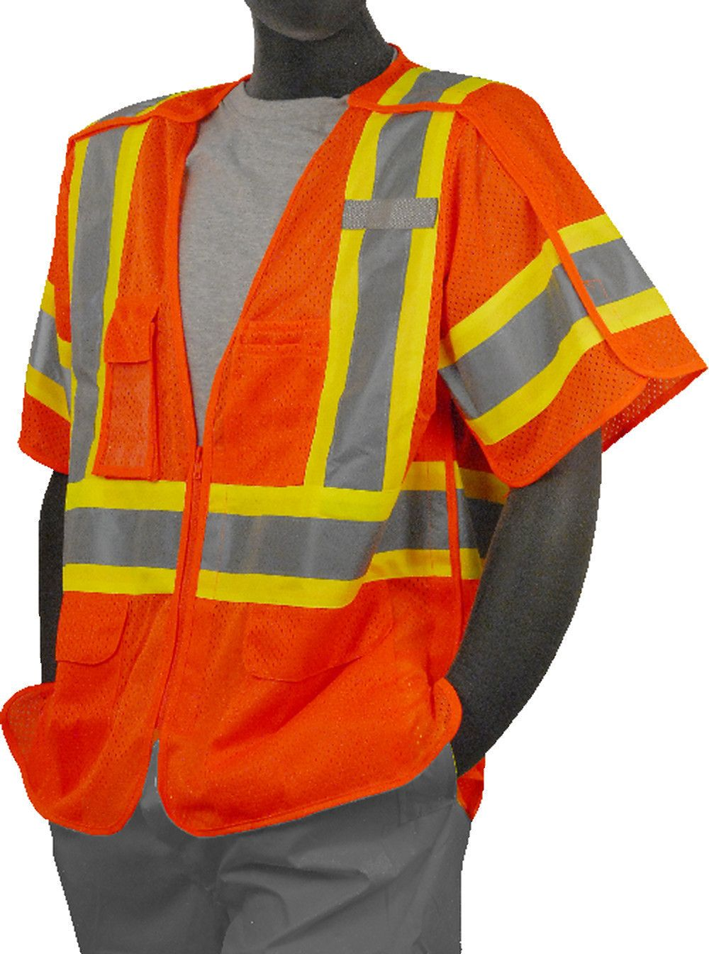 Safety Vest majestic 753306 CL3 Breakaway Safety Vest