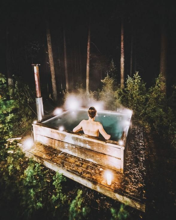 27 Outdoor Hot Springs, Tubs & Pools To Warm Up Your ...