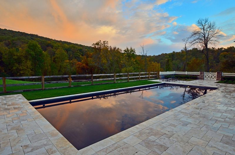 Pools With Waterfall And Slide Florida Warm And Relaxing Swimming Pool With A Nice White Curve Residential Pool Small Swimming Pools Swimming Pools Inground