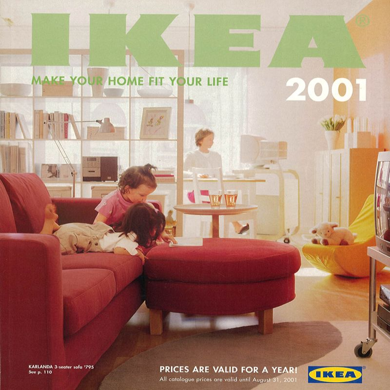 The 2001 IKEA Catalogue.