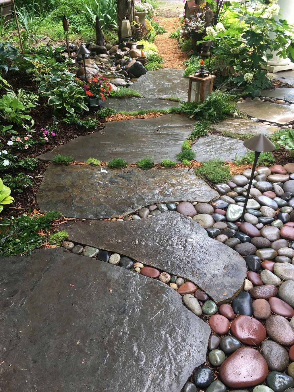 45+ Creative Diy Garden Walkways Ideas For Stunning Home ...