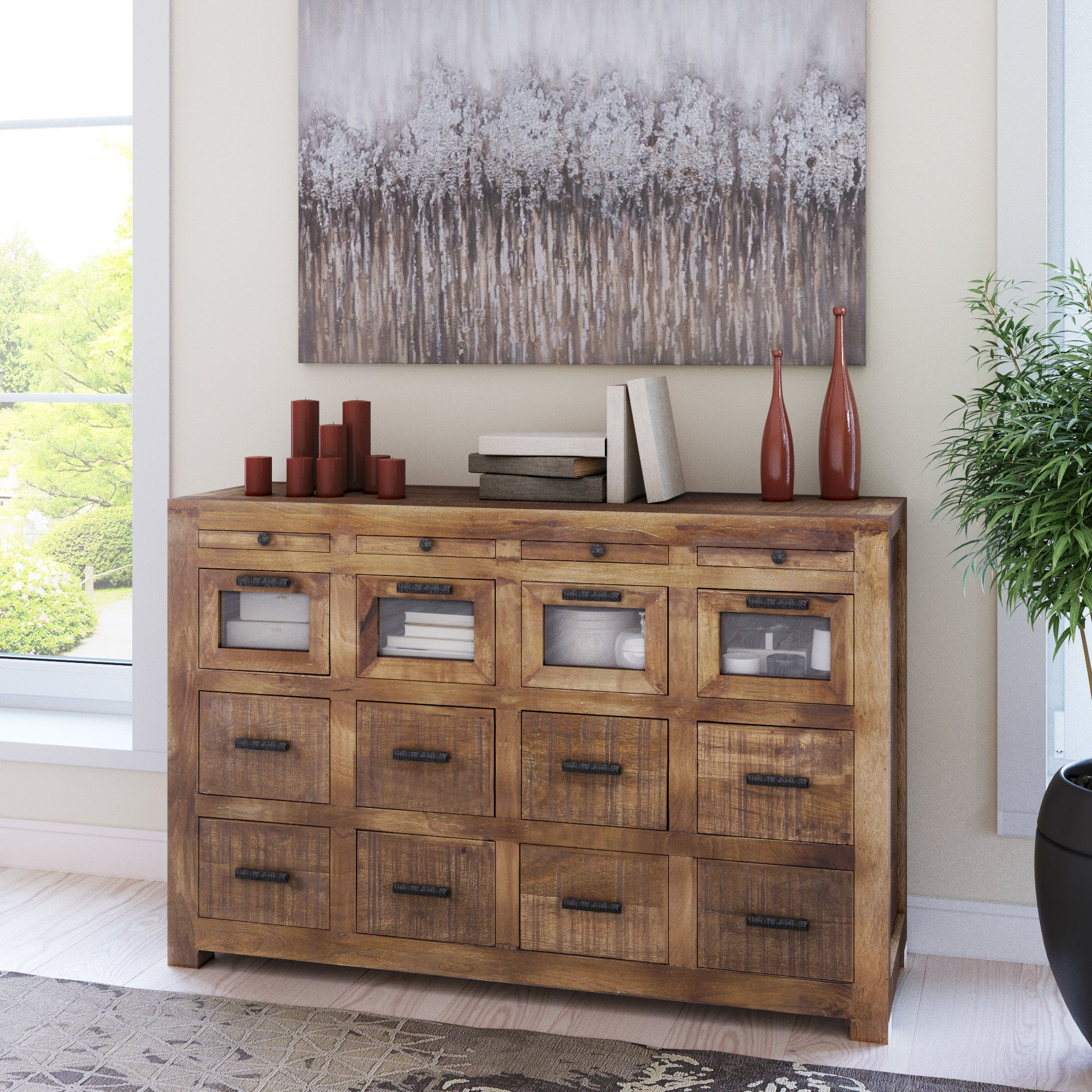 Anatole craftsman drawer sideboard products pinterest products