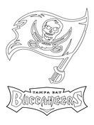 Tampa Bay Buccaneers Logo Coloring Page Tampa Bay Buccaneers Logo Coloring Pages Printable Coloring Pages