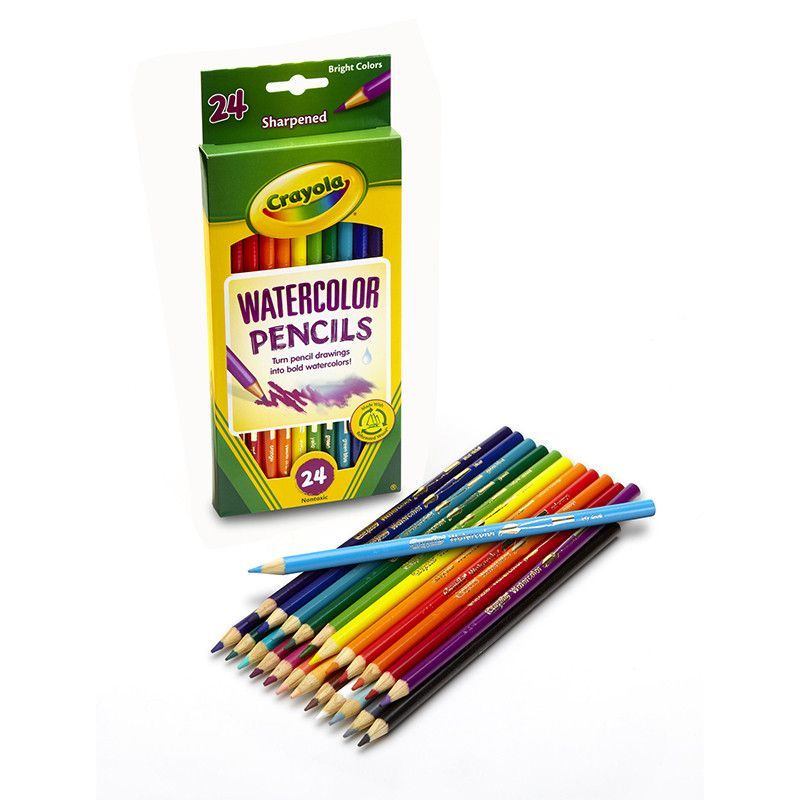 Crayola Watercolor Pencils 24 Color Watercolor Pencils Crayola