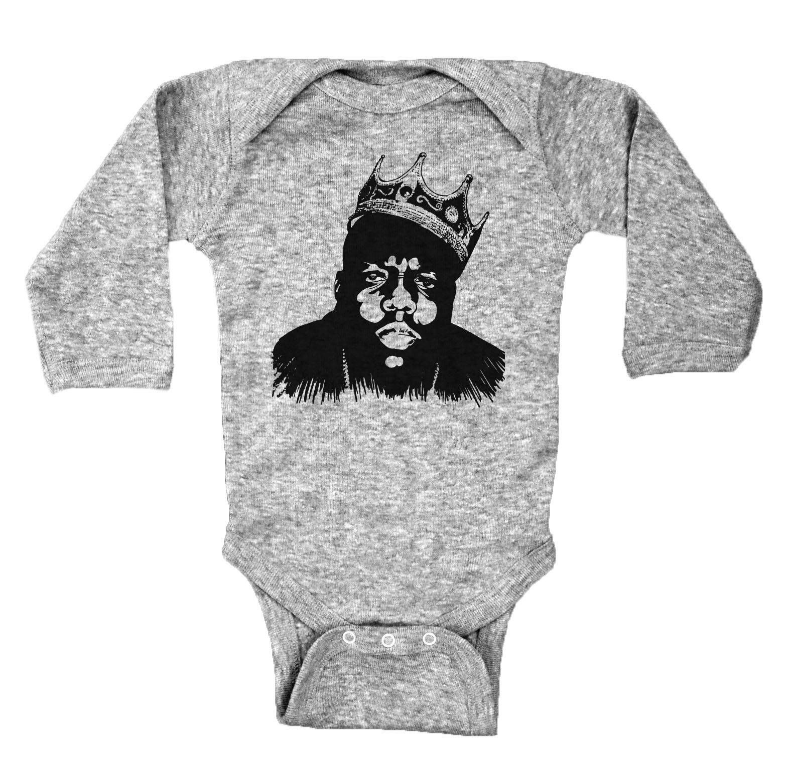 Biggie Smalls Baby Onesie Outfits Papper The Notorious B.I.G