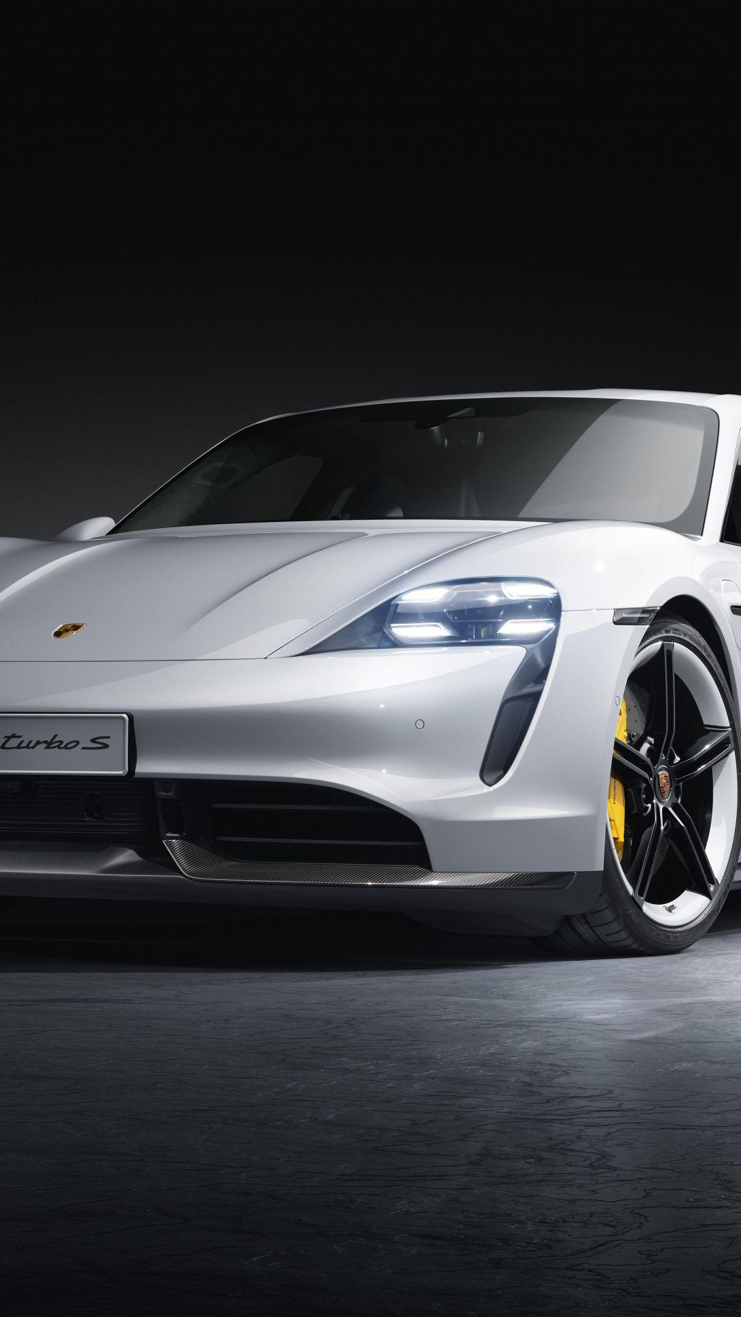 1080x1920 Porsche Taycan Turbo, 2019 wallpaper Porsche