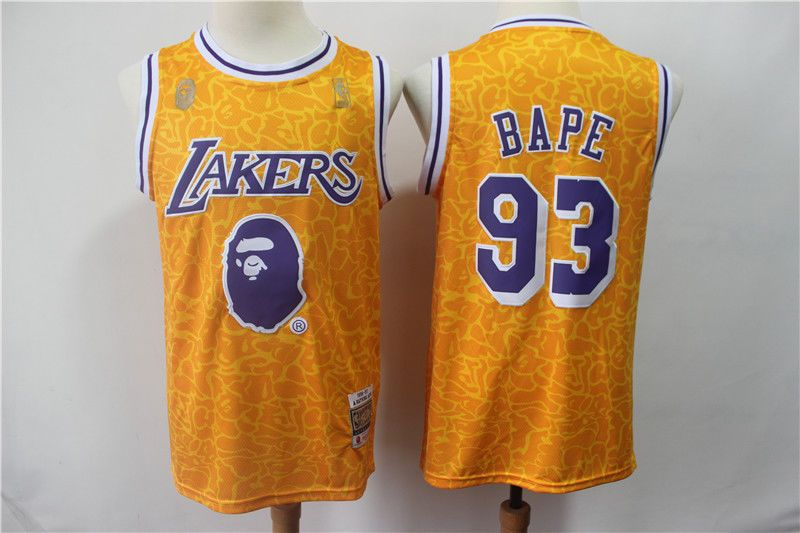 4f23ba2fc mitchell ness lakers bape jersey M sz  fashion  clothing  shoes  accessories   mensclothing  othermensclothing (ebay link)