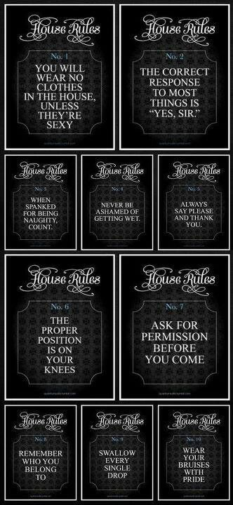 Pin On D S House Rules