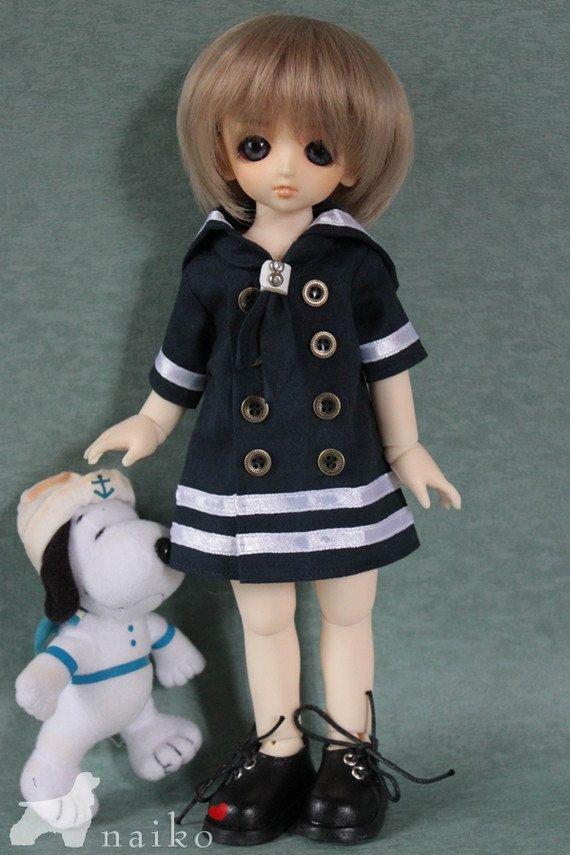 Naikohandmade1 piece Sailor's clothes for bjd yoSD AI by naiko2, $13.00