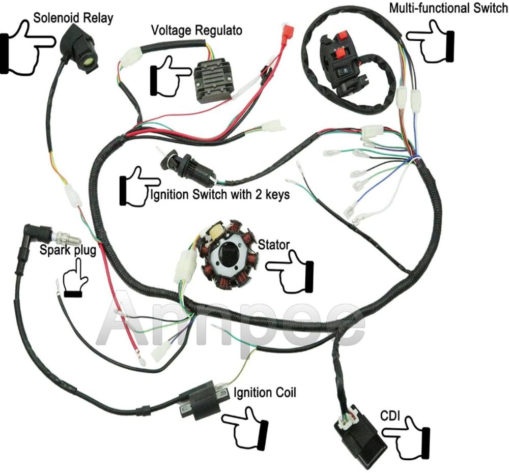 Honda Click 125i Motorcycle Wiring Diagram