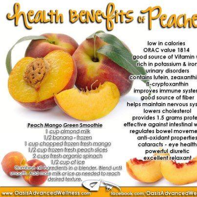 Peaches Benefits